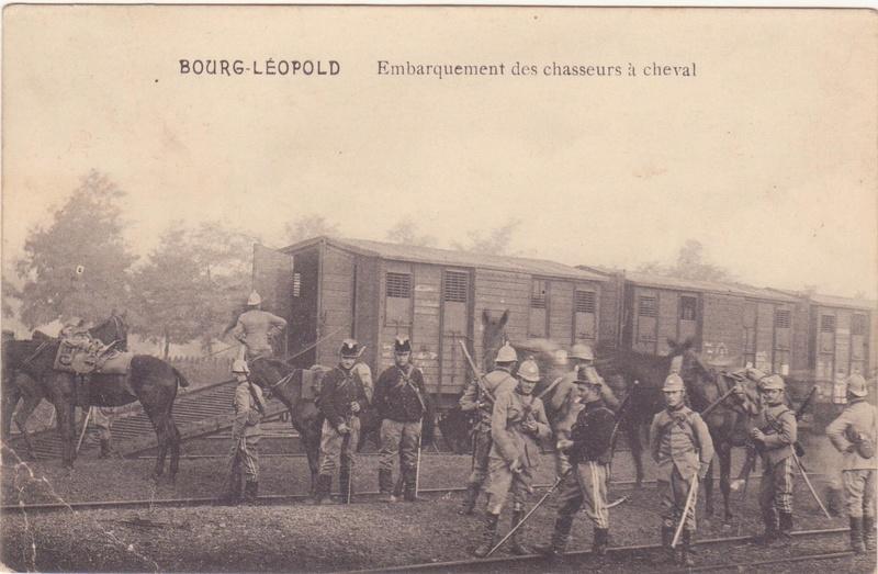 Casque belge d' essai de nouvelles tenues avant 1914 ... Chasse14
