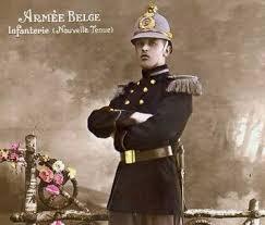 Casque belge d' essai de nouvelles tenues avant 1914 ... Index110