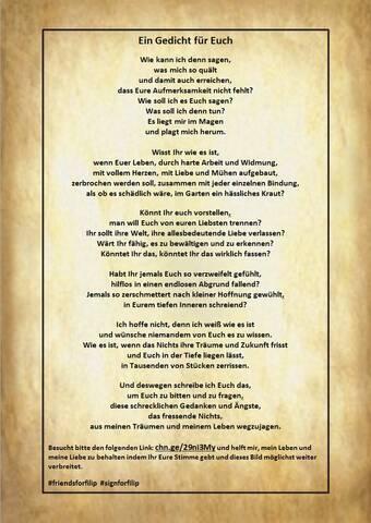 Ein Gedicht Für Euch Liebe Mitglieder