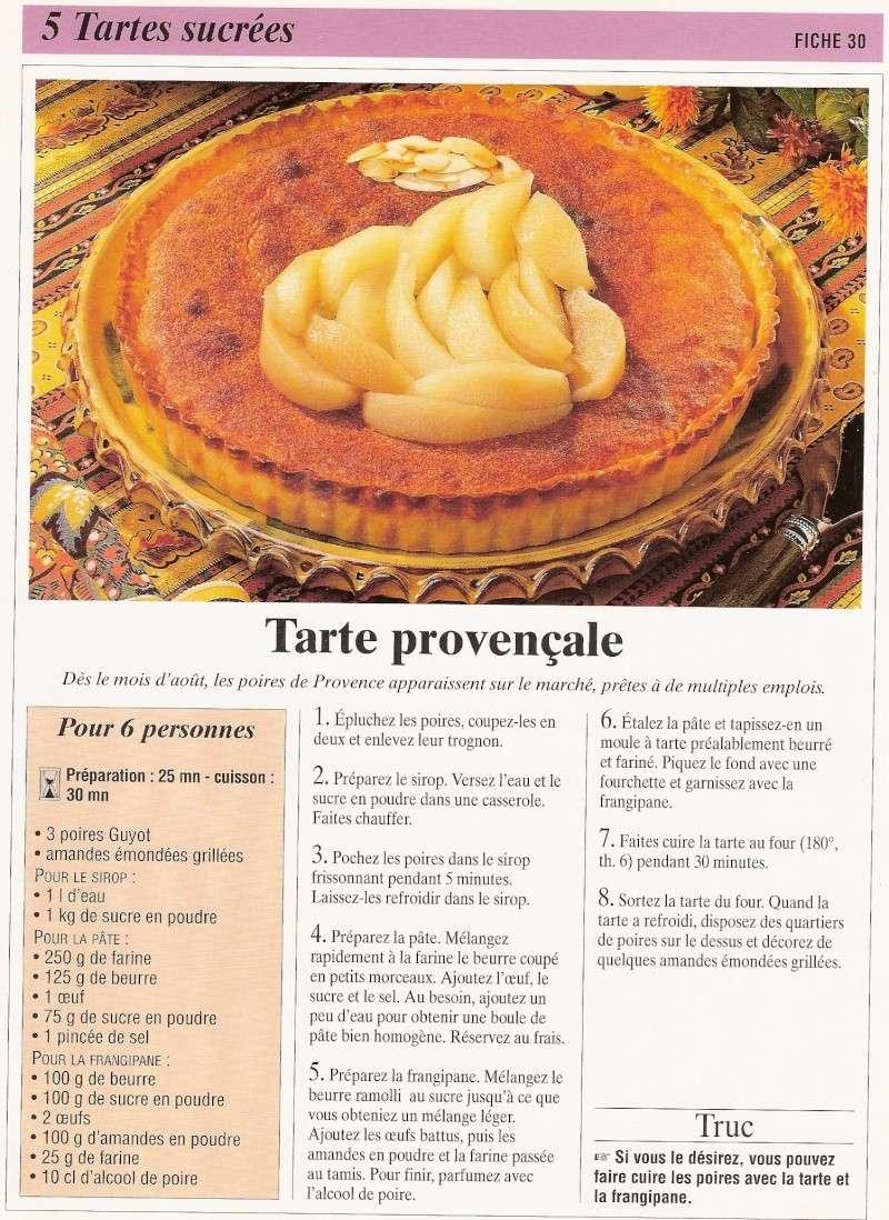 Les tartes sucrés Calend18