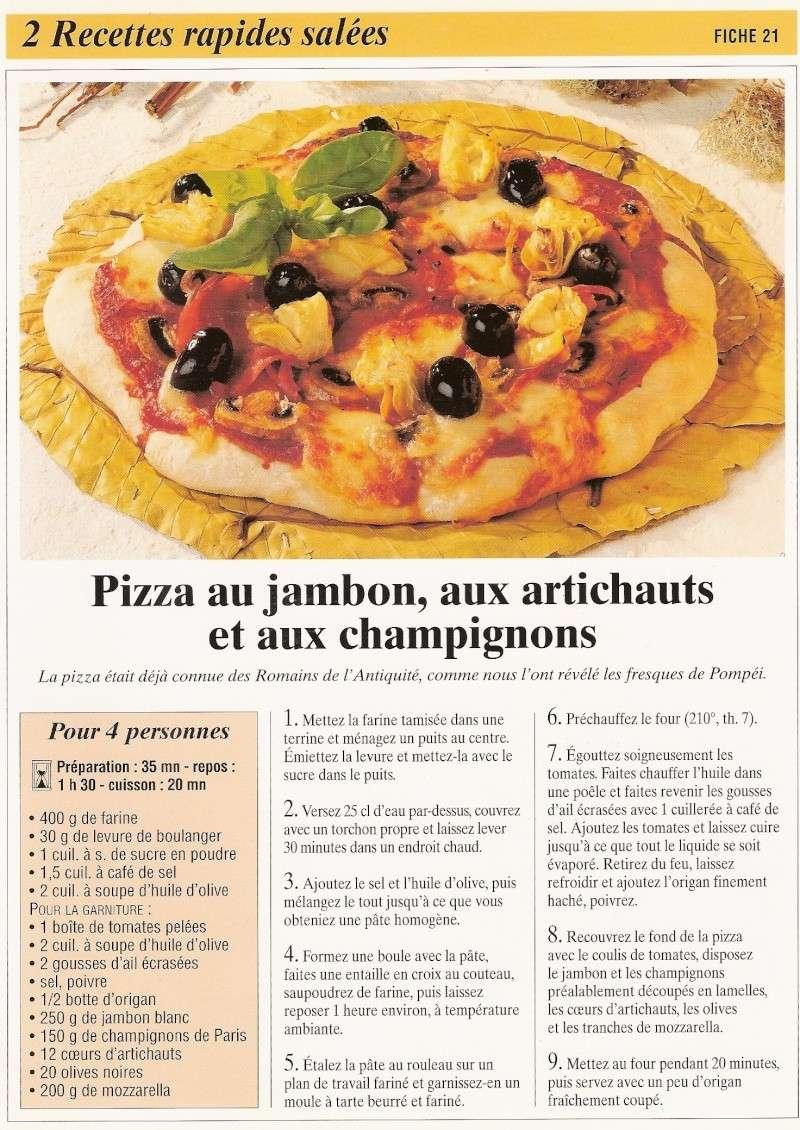 les pizzas Recett29