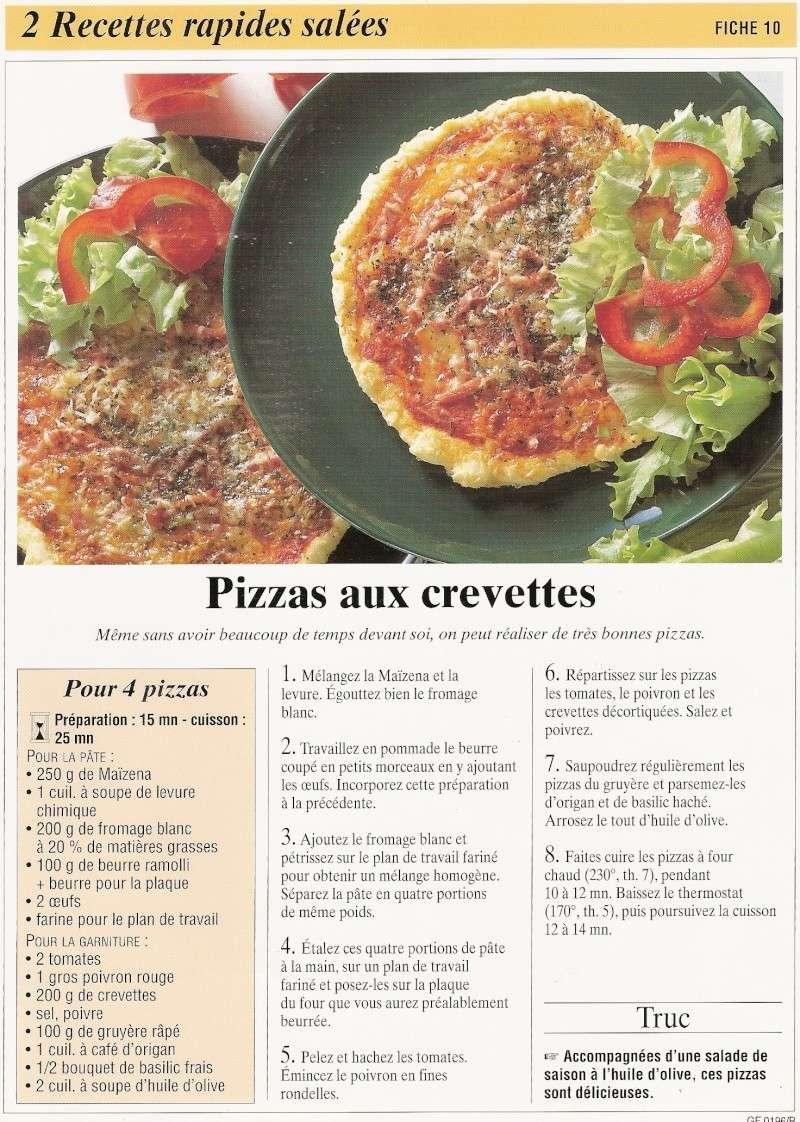 les pizzas Recett30