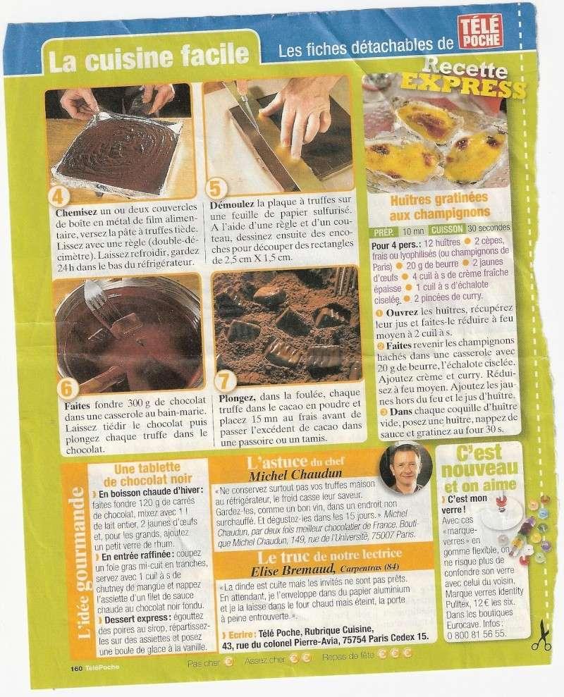 Les chocolats Recett33
