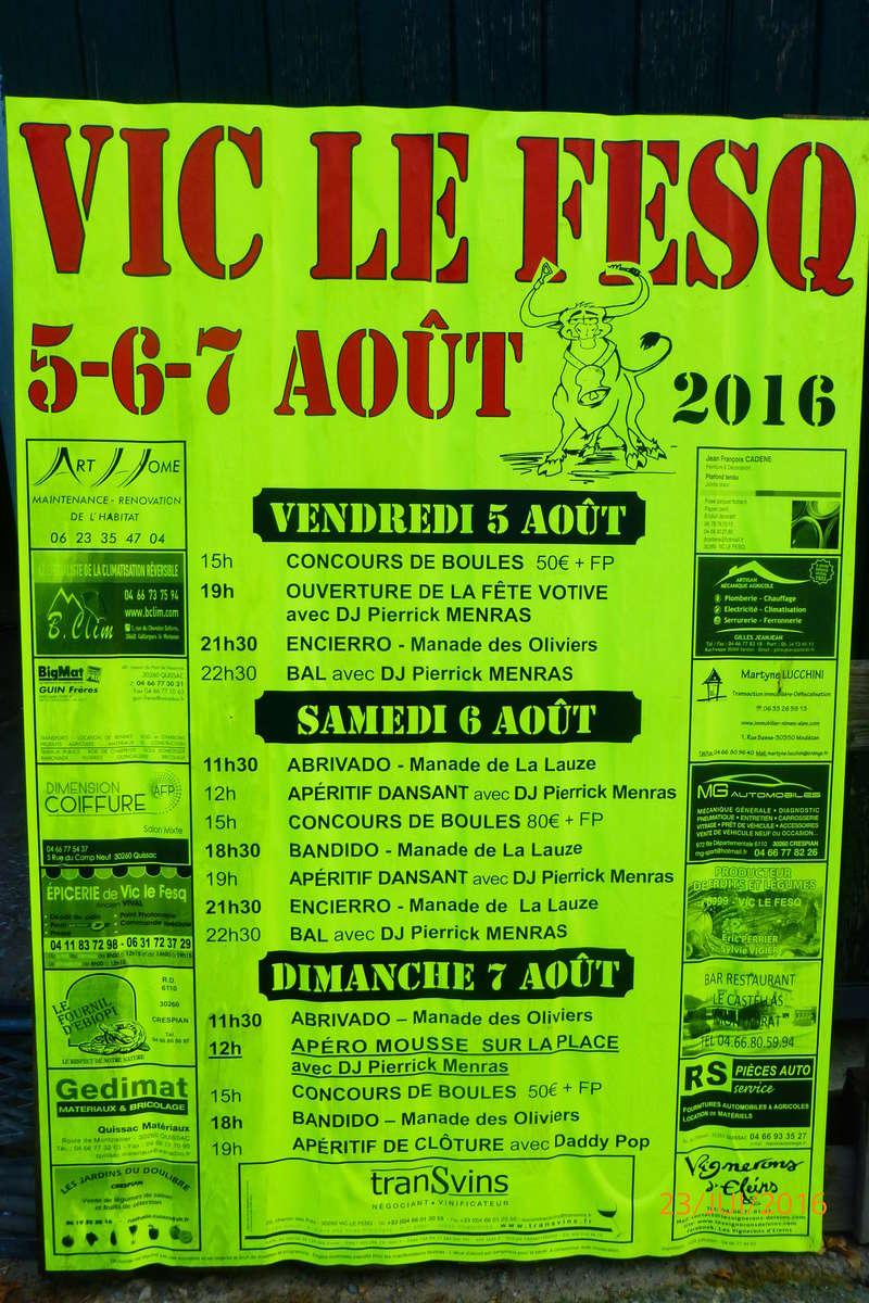 VIC LE FESQ 5-6-7 Aout Affich10