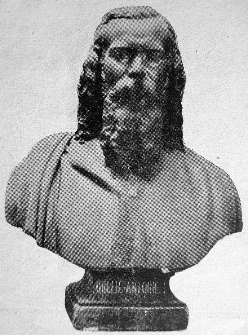 nouveau buste du Roi d'Araucanie et de Patagonie 82335211