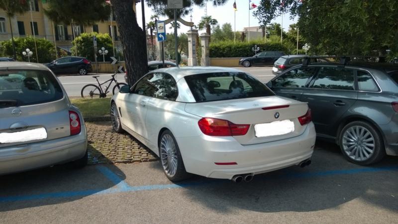 Avvistamenti auto rare non ancora d'epoca - Pagina 6 Alpina11