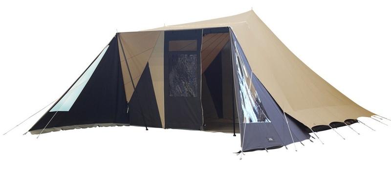 La marque de tente De Waard Albatr11