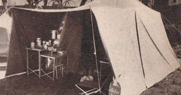 La marque de tente De Waard Dewaar11