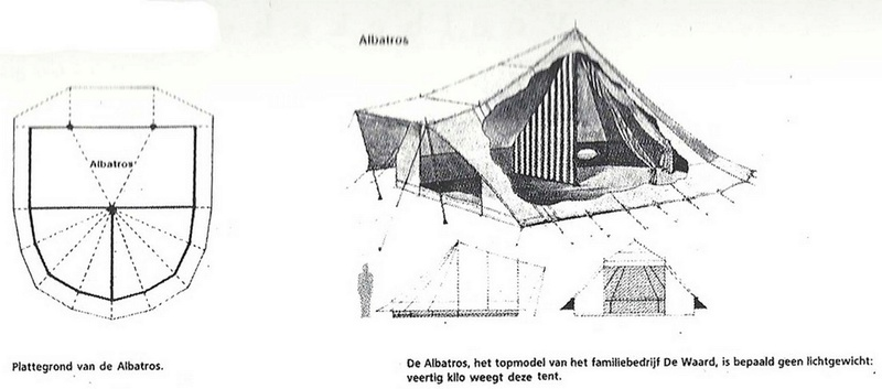 La marque de tente De Waard Ontsta11