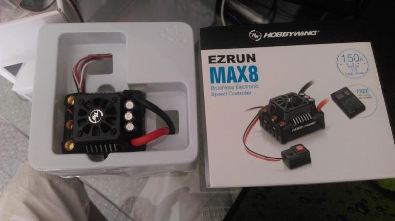 Hobbywing EZRUN MAX8 Imag0614
