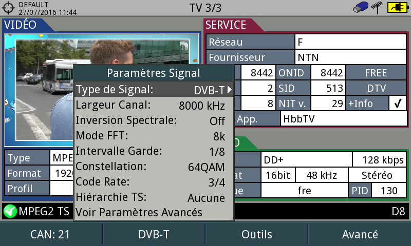 OPTIMISATION DVB_T DU BASSIN LÉMANIQUE Tvcan211