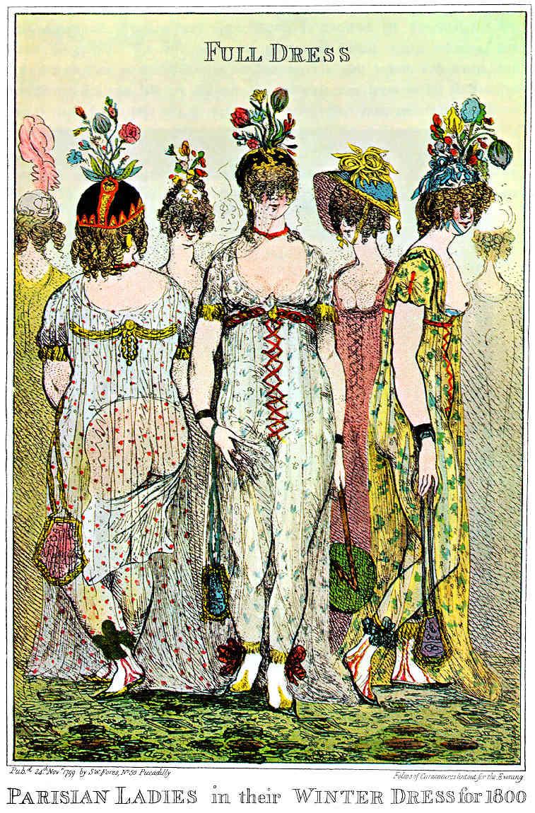 La Révolution déshabille les dames : la mode durant la Révolution 1799-c10