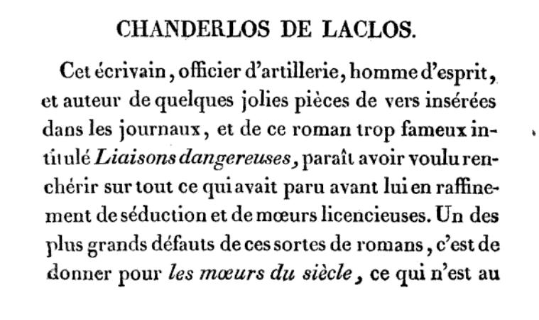 """Les """"Liaisons Dangereuses """",  de Choderlos de Laclos Books10"""