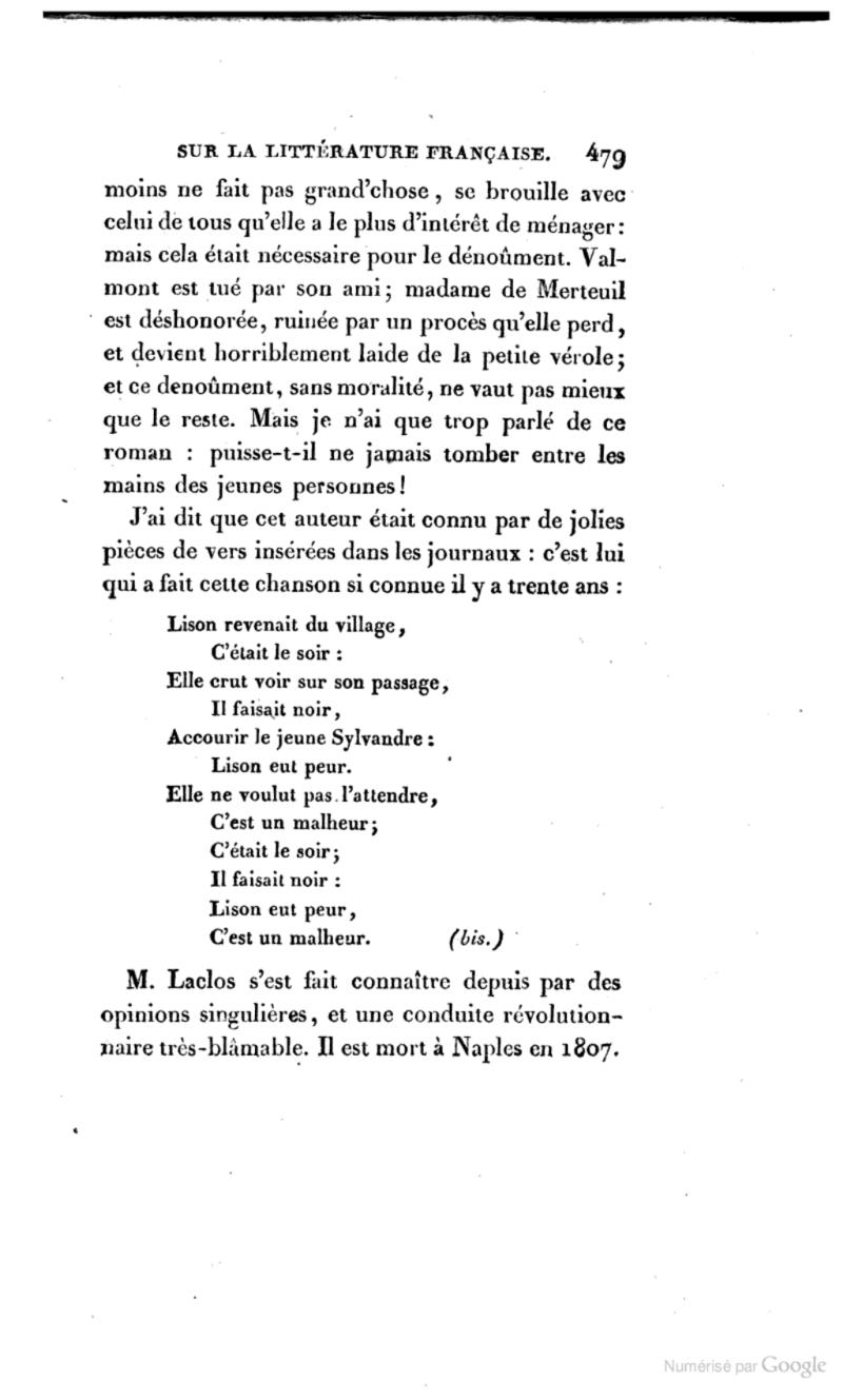 """Les """"Liaisons Dangereuses """",  de Choderlos de Laclos Books_11"""