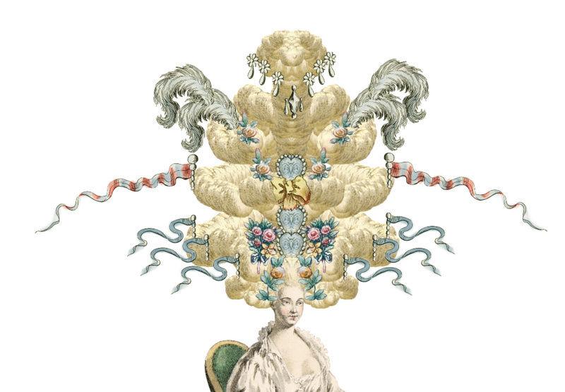 Amusement : Création d'une perruque à la mode du XVIIIè siècle - Page 2 Canvas11