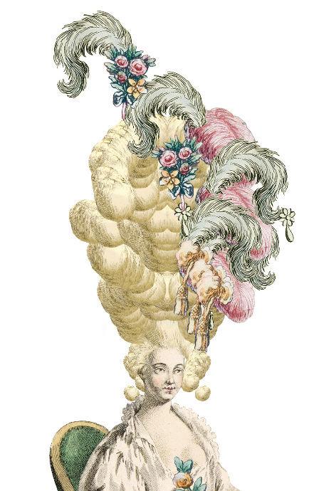 Amusement : Création d'une perruque à la mode du XVIIIè siècle - Page 2 Canvas13