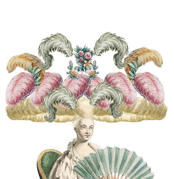 Plumes et Plumassiers au XVIIIe siècle Canvas16