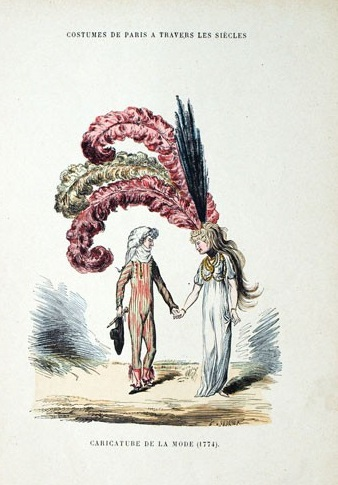 Plumes et Plumassiers au XVIIIe siècle Costum10