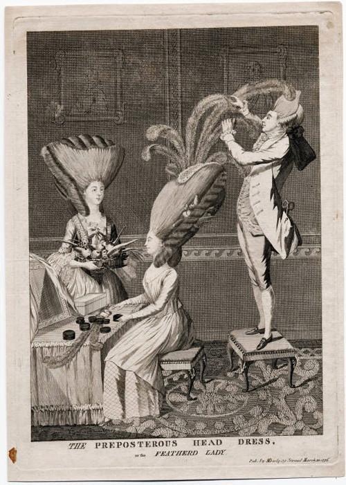 Plumes et Plumassiers au XVIIIe siècle Propos10