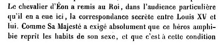 Charles d'Éon de Beaumont, dit le chevalier d'Éon - Page 3 Www75