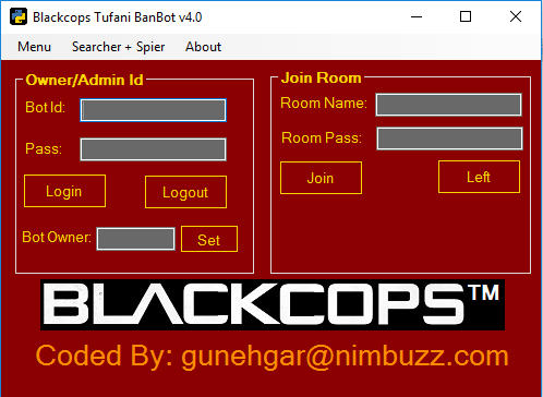 tufani banbot v4.0 with user searcher + room spier Tufani11
