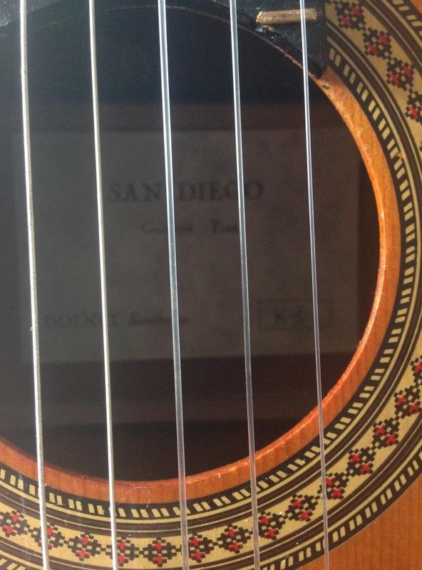 Guitare san Diego model k1 Image18