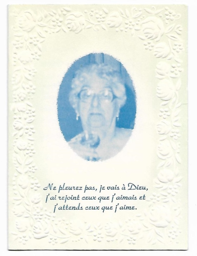 Nécrologie Mme Augustin Vigneau Mme_au10