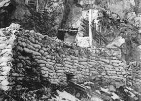 """fin 1914 : la """"Tête-de-Faux"""" ( Théâtre d'Alsace ) A011ab10"""