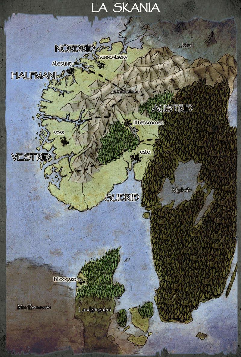 2) Les cinq Svæði [Important] Carte_10