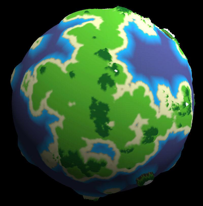 Génération procédurale  Planet14