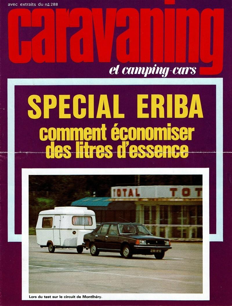 Revue CARAVANING Juin 1982 288-1110