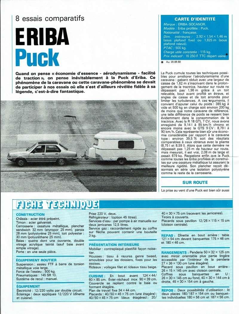 Revue CARAVANING Juin 1982 288-2110