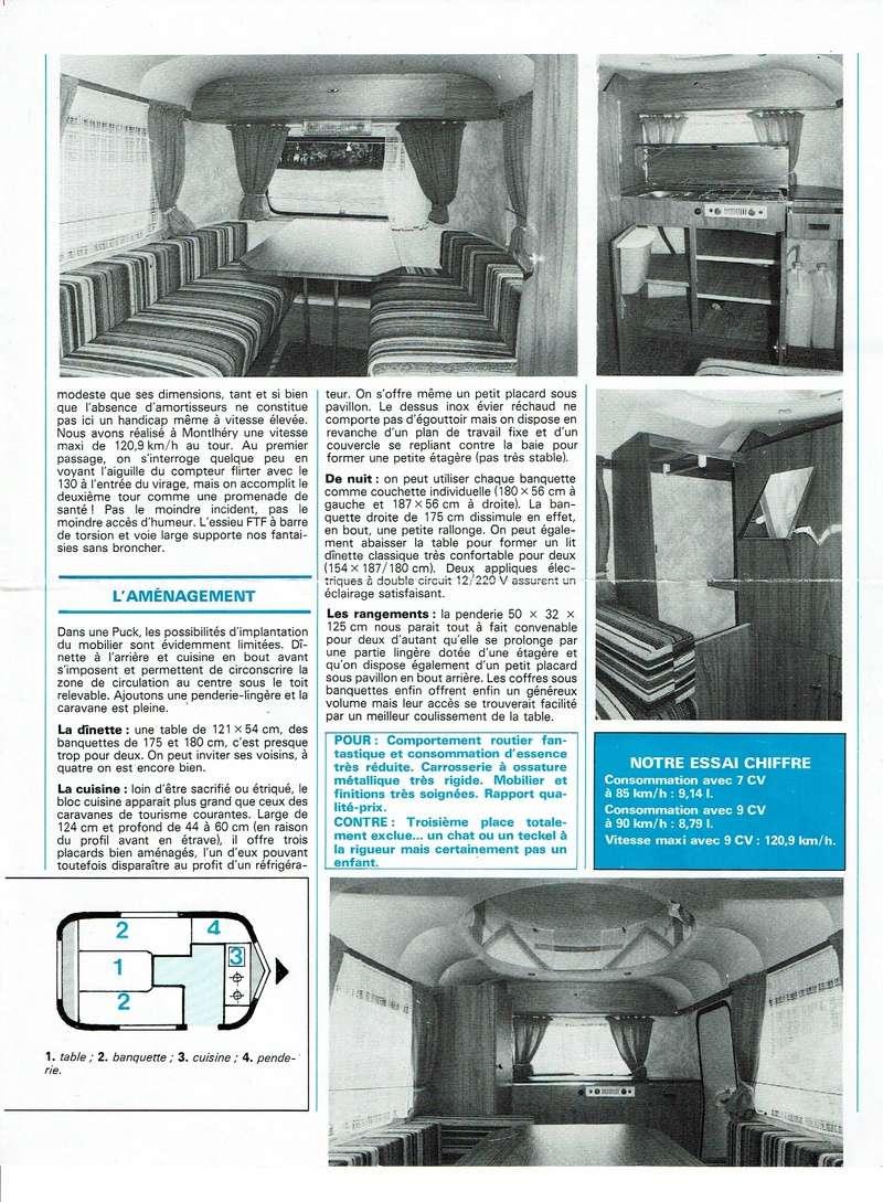 Revue CARAVANING Juin 1982 288-3110