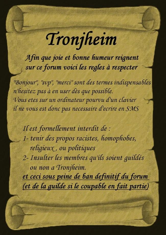 Charte Forum Tronjheim Regles10