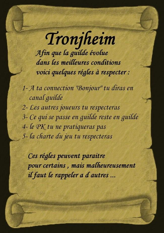 Charte de la Guilde Regles11