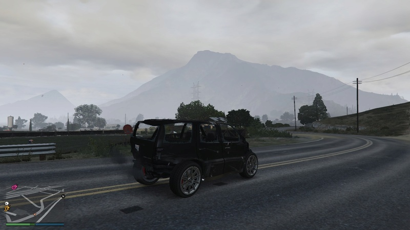 When your driving game in GTA needs some serious work. 20160713