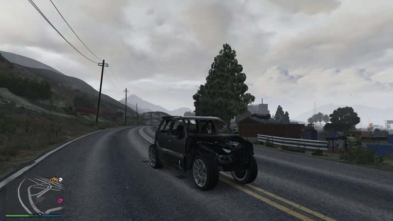 When your driving game in GTA needs some serious work. 20160714