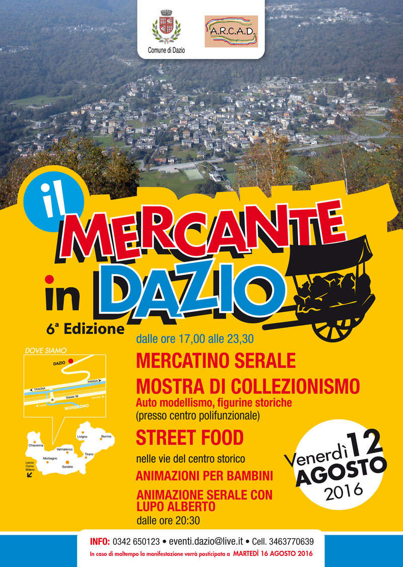 Eventi a Dazio in Valtellina  Ilmerc11