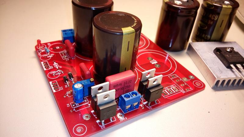 Alimentatore con doppio LT1083 - componenti e assemblaggio - Pagina 2 Img_2011