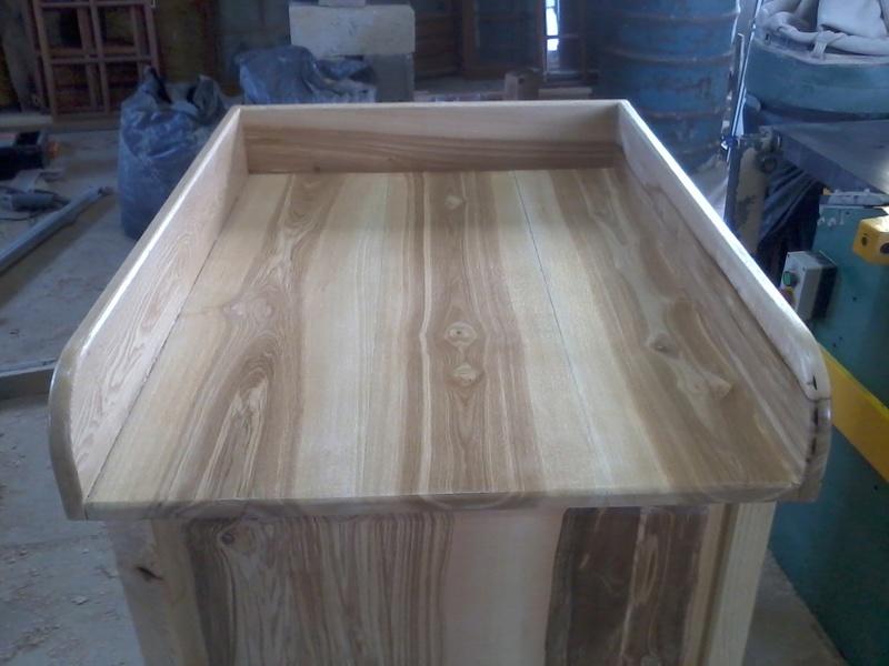 Table à langer en frêne Photo019