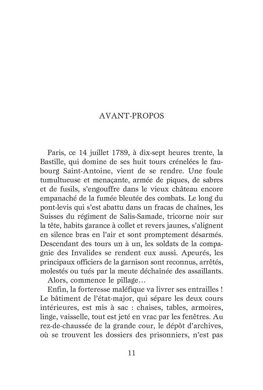 La Bastille, mystères et secrets d'une prison d'état. De Jean-Christian Petitfils 81mgic10