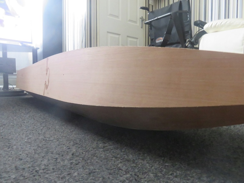 "MY 72"" APACHE RC HULL BUILD 0812"