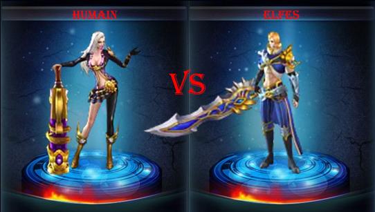 Humains vs Elfes Humain12