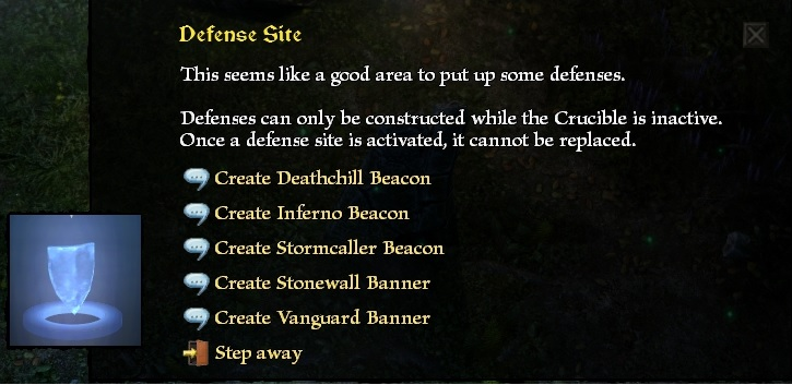 Crucibles - Survival Defesa11