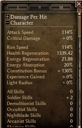 Warder - Retaliation Regen10