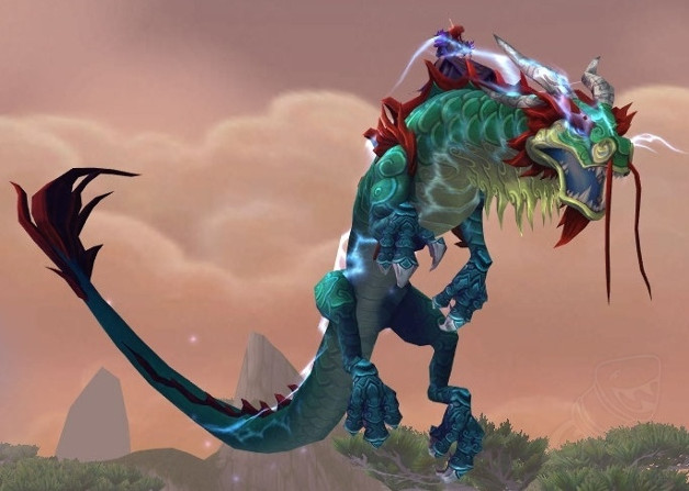 Rênes de serpent-nuage de jade fulminant (Monture Guilde) Serpen10