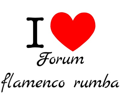 I love forum flamenco rumba imprimé t-shirt 2016-010