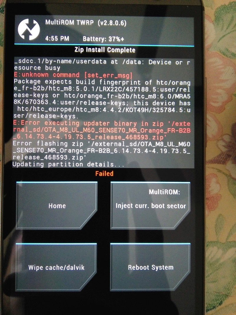 [AIDE] htc m8 avec version demo Img_2011
