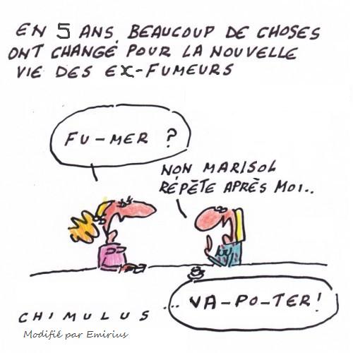 Mauvaises blagues sur la vape (je sais, c'est pas gentil) - Page 2 Chimul11