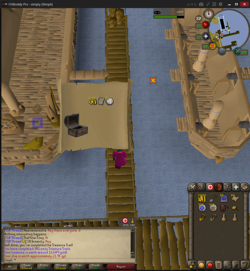 200 Easy Clues to 500 total Treasu11